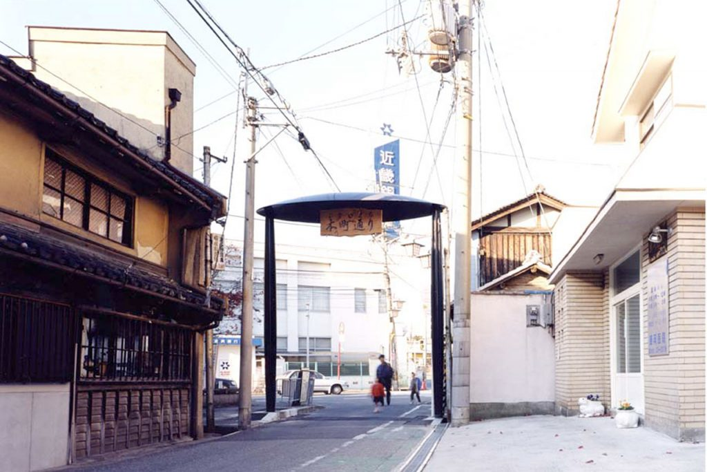 富田林本町通り商店街ゲート整備