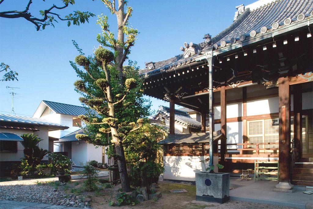 西念寺の庫裏