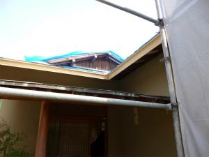 大阪狭山市で民家の改修が進行中です。