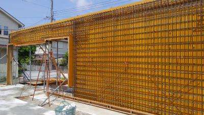 河内長野市Y邸 コンクリート壁