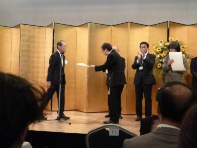第8回建築人賞を受賞しました!