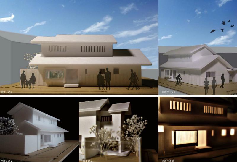 富田林寺内町で設計したcafe付住宅のオープンハウスがあります。