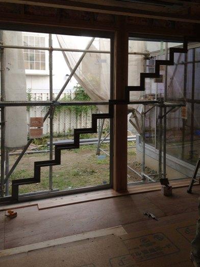 N邸 階段取付